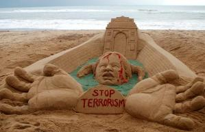 Sand Sculpture by Sudarshan Pattnaik