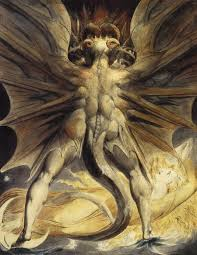 Red Dragon by William Blake, image credit:  en.wikipedia.org